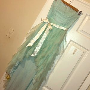 Beautiful sweetheart Seafoam green Dress